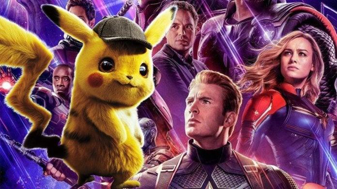 Avengers Endgame Detective Pikachu