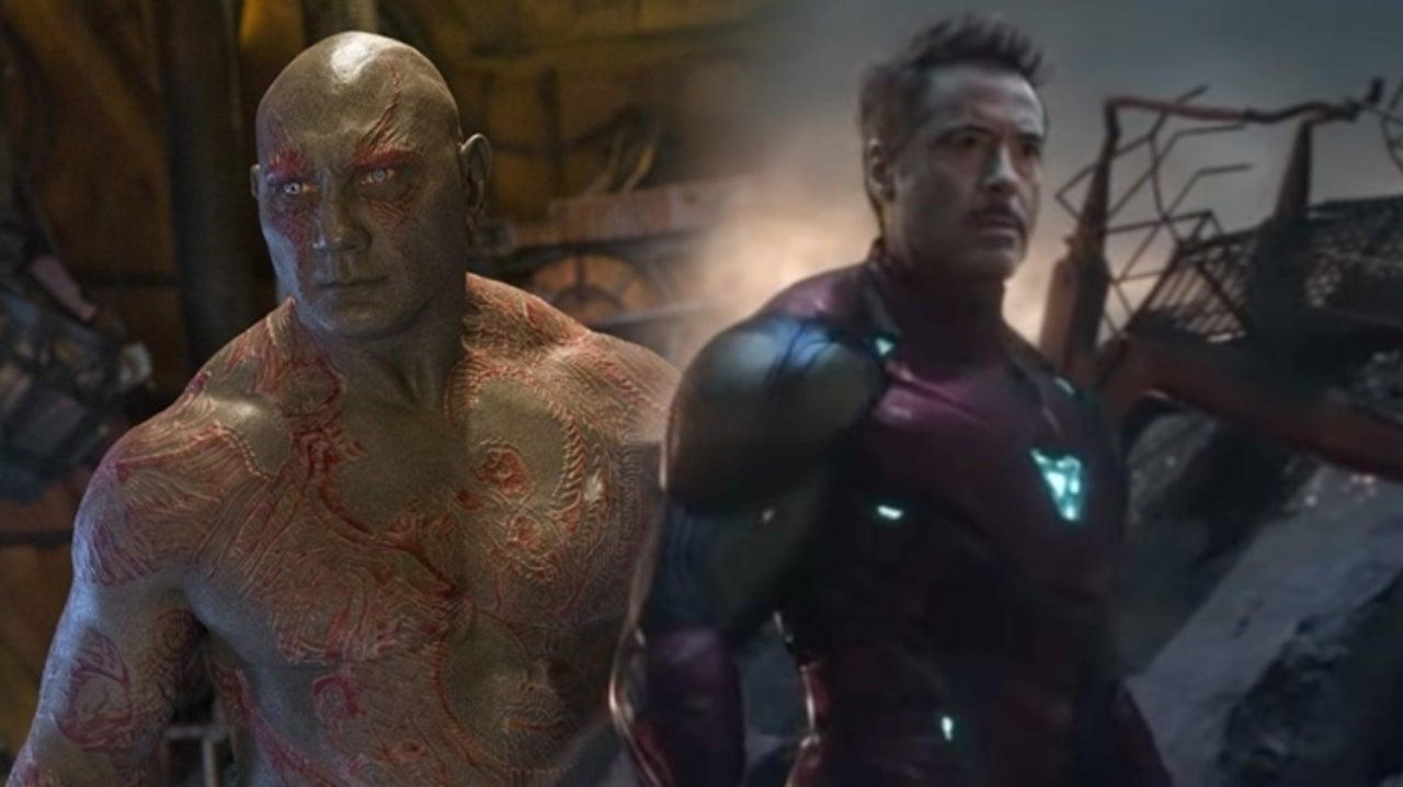 Robert Downey Jr. Picks Dave Bautista's Drax First In His Avengers Fantasy Draft