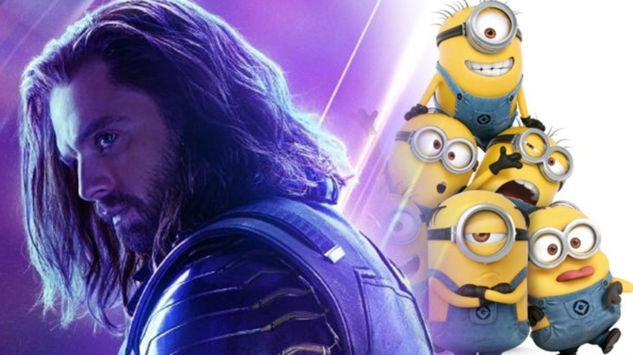 Watch Sebastian Stan Sing Minion Songs With His Avengers: Endgame Stunt Doubles