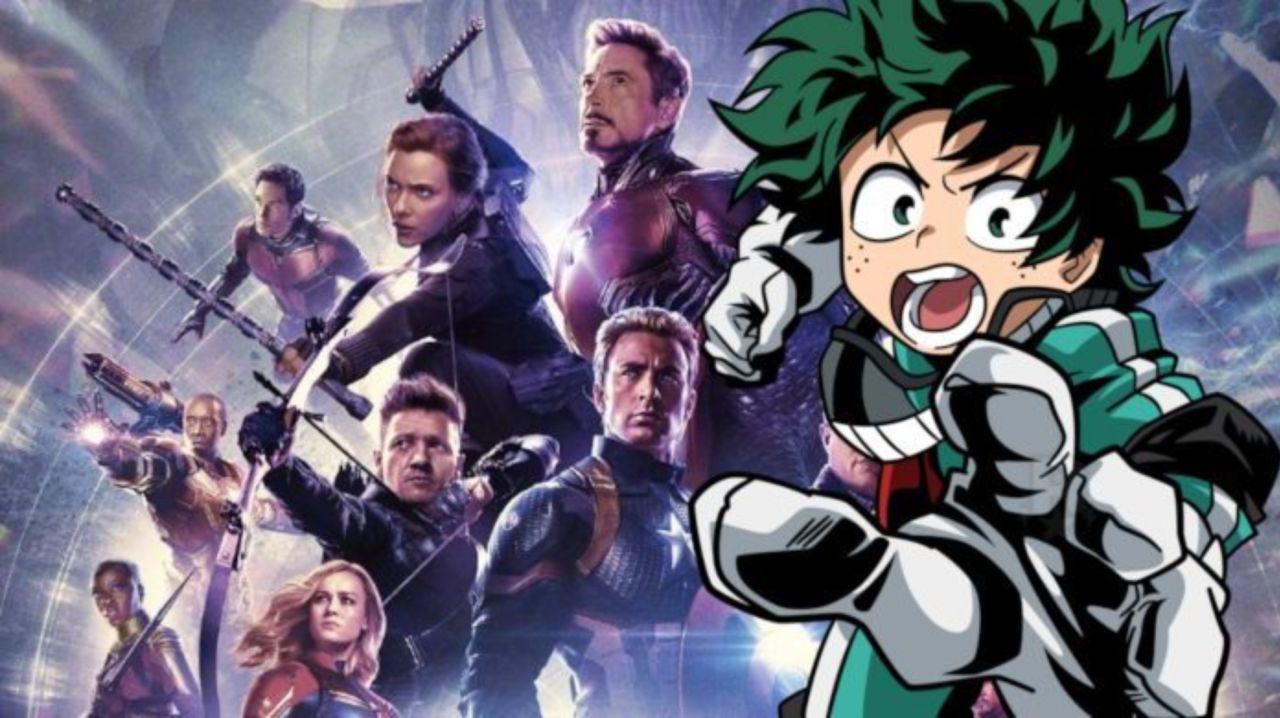 My Hero Academia Creator Praises Avengers: Endgame