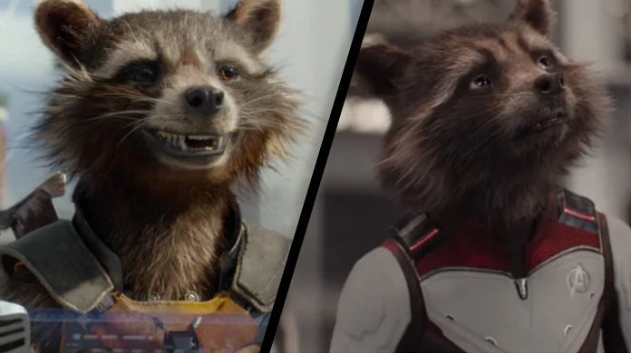 avengers endgame rocket raccoon age