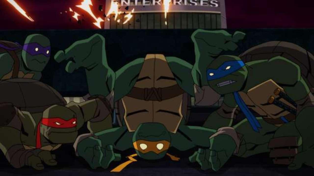 Exclusive Sneak Peek Batman Vs Teenage Mutant Ninja Turtles