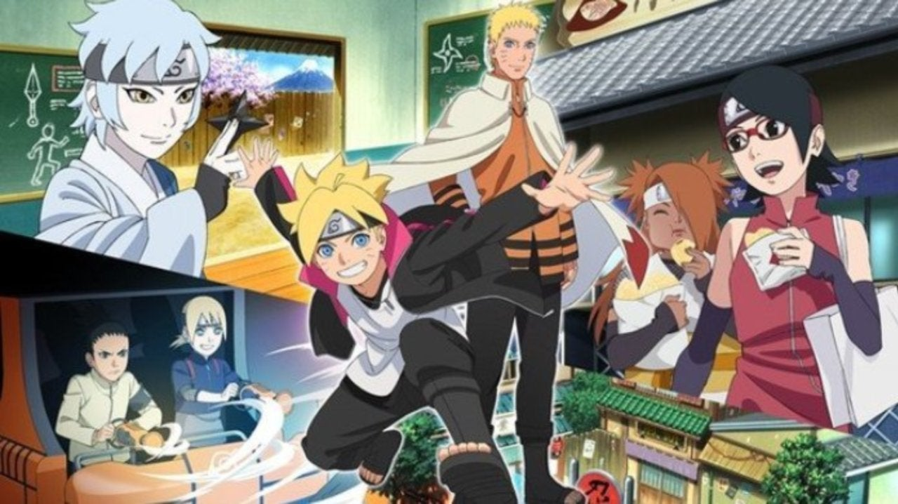 Boruto and Naruto Are Coming to a New Japanese Theme Park