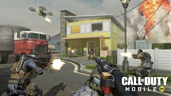 Call of Duty Mobile Gun