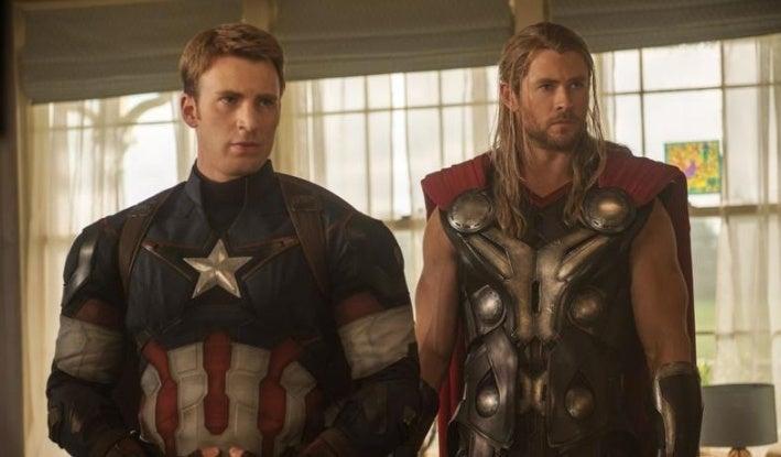 captain america thor avengers