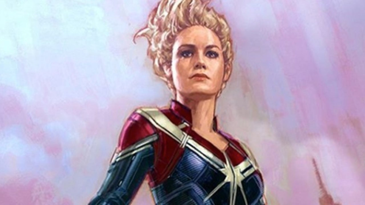 Marvel Studios Artist Reveals New Alternate Captain Marvel Costume Everything from cosplay options to a shirt featuring brie larson! alternate captain marvel costume