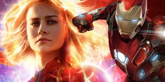 captain marvel iron man cosplay