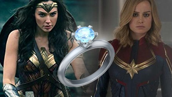 captain marvel wonder woman engaged