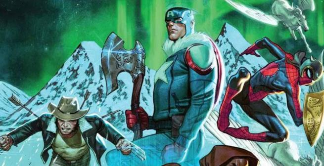 Comic Review - War of Realms Strikeforce Land of Giants #1