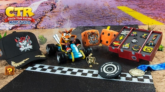 Crash Team Racing Nitro-Fueled Merch Numskull Designs