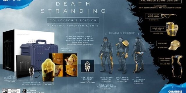 The Death Stranding Collector's Edition is Back In Stock if You Hurry