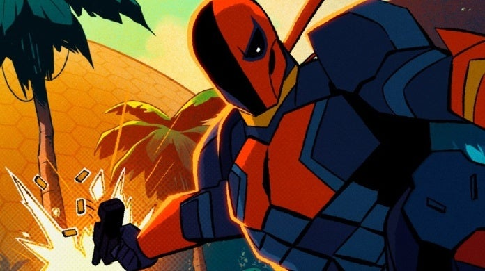 deathstroke animated series cw seed