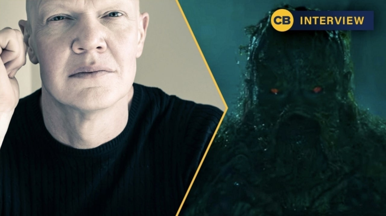 Swamp Thing Star Derek Mears on Practical Effects, a Hard R Rating, and More