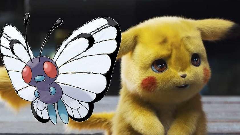 Detective Pikachu Butterfree