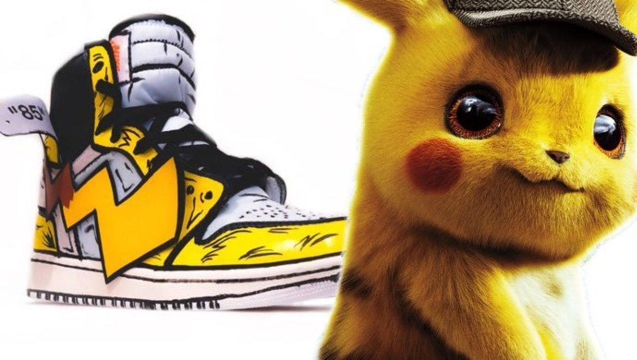 pikachu off white jordan 1