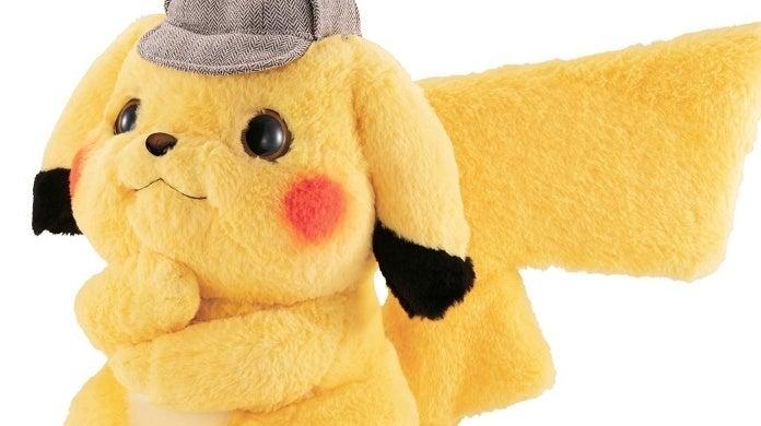 detective pikachu thinking