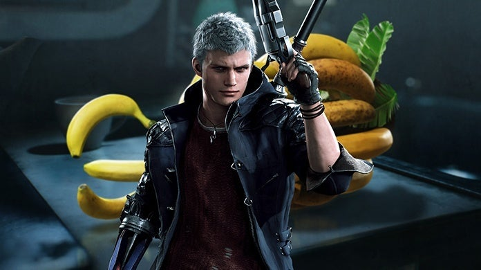 Devil May Cry 5 Nero Banana Hand