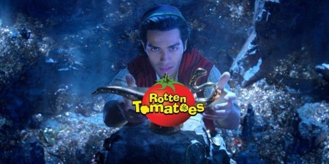 Disney Aladdin Rotten Tomatoes Score Mixed Reviews 2019