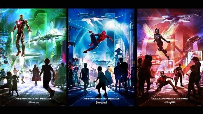 """DisneyParks Avengers """"title ="""" DisneyParks Avengers """"height ="""" 391 """" width = """"696"""" class = """"40"""" data-item = """"1169693"""" /> </figure><p> Le parc Anaheim abritait déjà l'attraction-drop <em> Les gardiens de la galaxie - Mission: BREAKOUT! </em> hébergera bientôt la Worldwide Engineering Brigade, ou le siège Web, où les recrues pourront «se mettre à la place» <a href="""