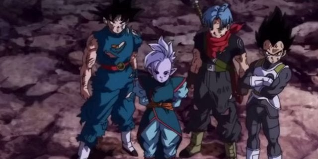 Dragon Ball Heroes Episode 12 Core Area Warriors vs Universe 7