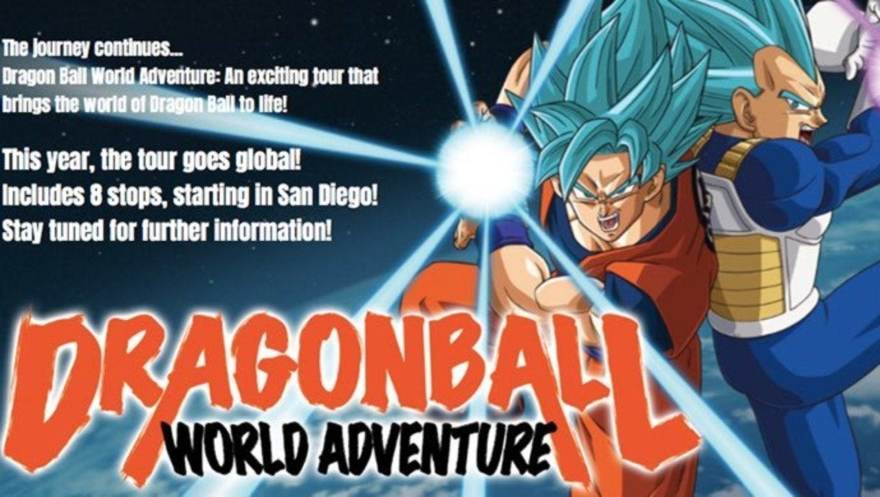 Dragon Ball Announces Official 2019 World Tour
