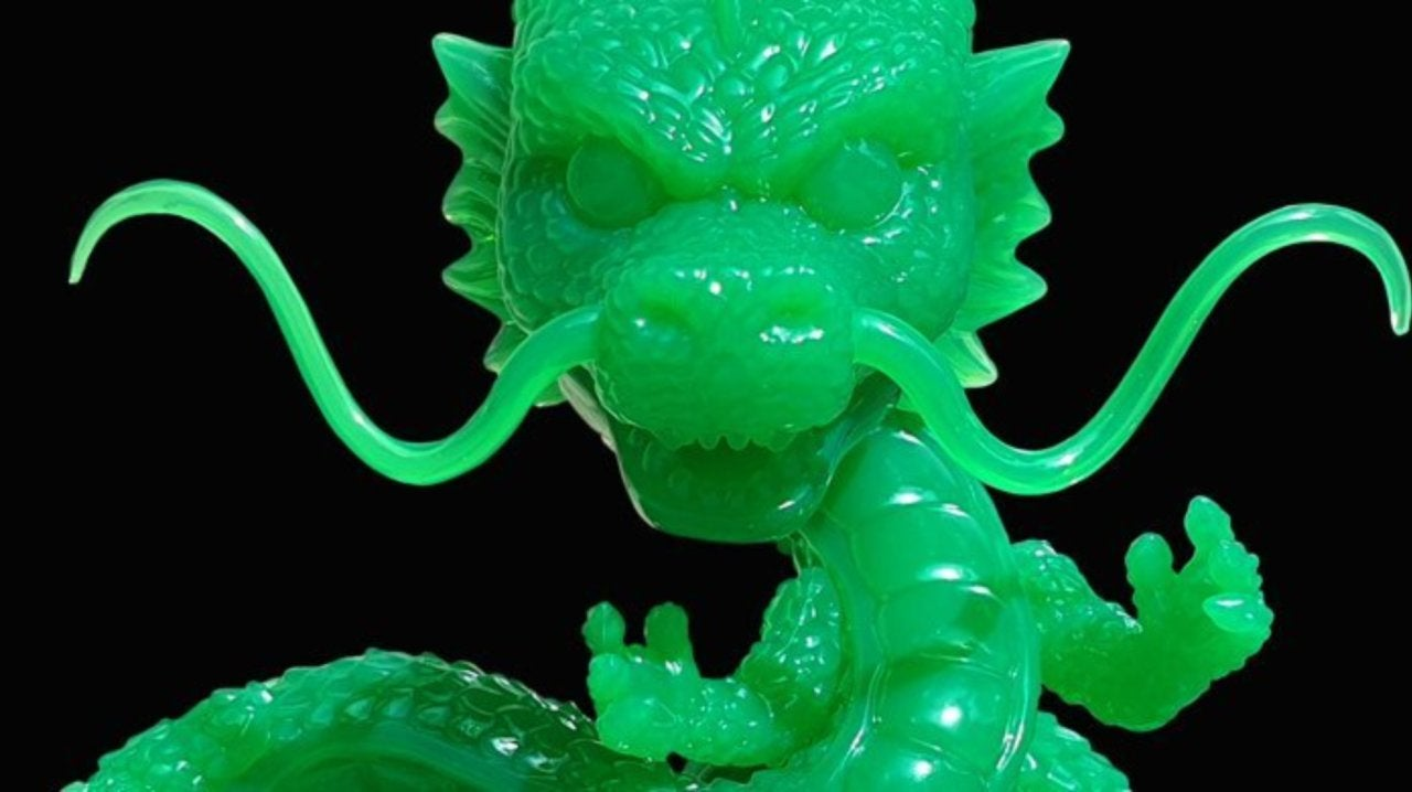 Funko's Dragon Ball Z Jade Shenron 6-Inch Pop Figure Exclusive Arrives Tonight