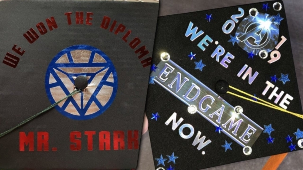 Avengers: Endgame Graduation Caps are Becoming a Thing