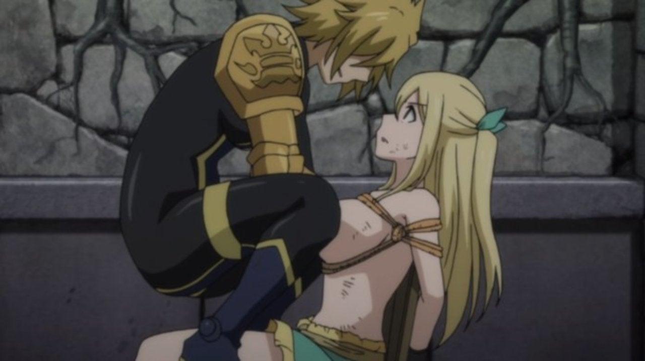 Fairy Tail Reveals Strange Lucy Torture Scene
