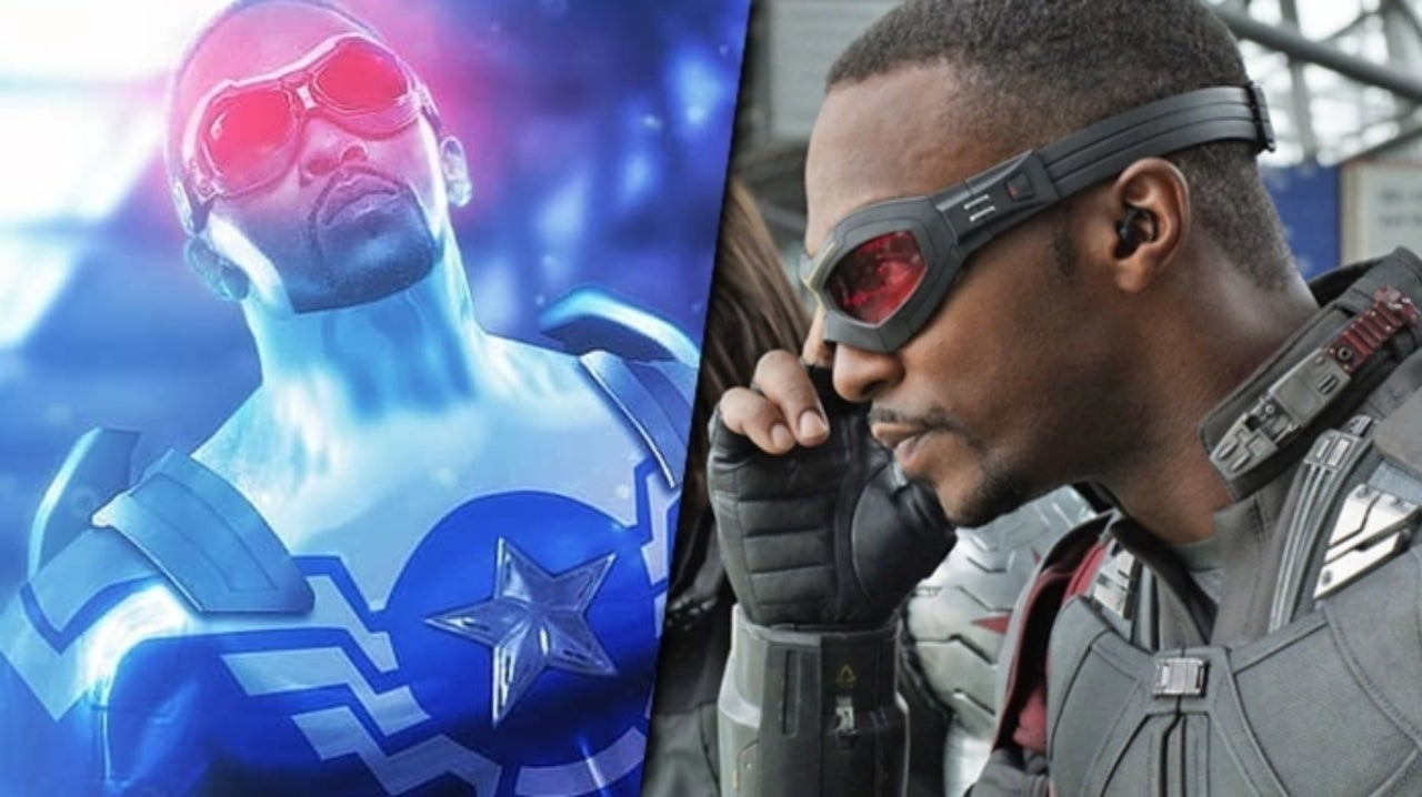 Anthony Mackie Becomes the New Captain America in Falcon and