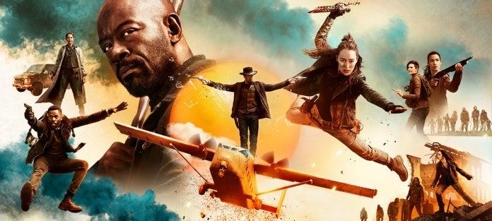 Fear the Walking Dead season 5 key art