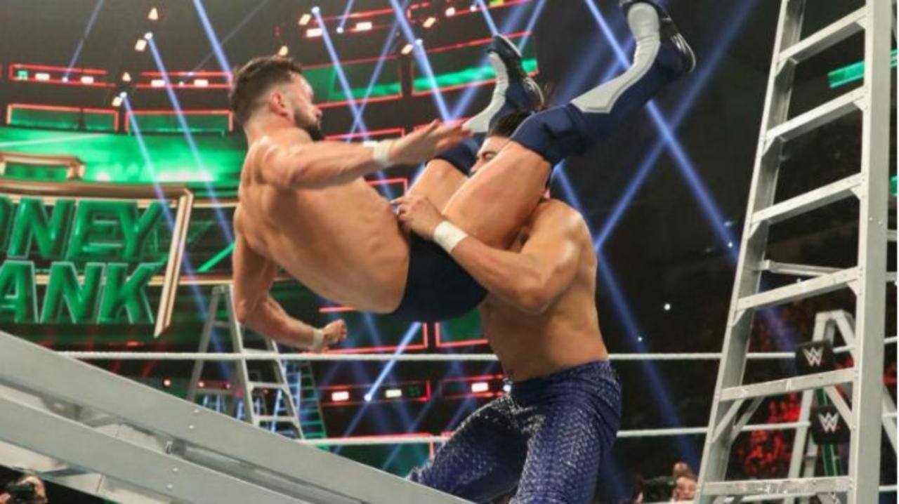 Watch: Here's Every Insane Bump Finn Balor Took at Money in the Bank