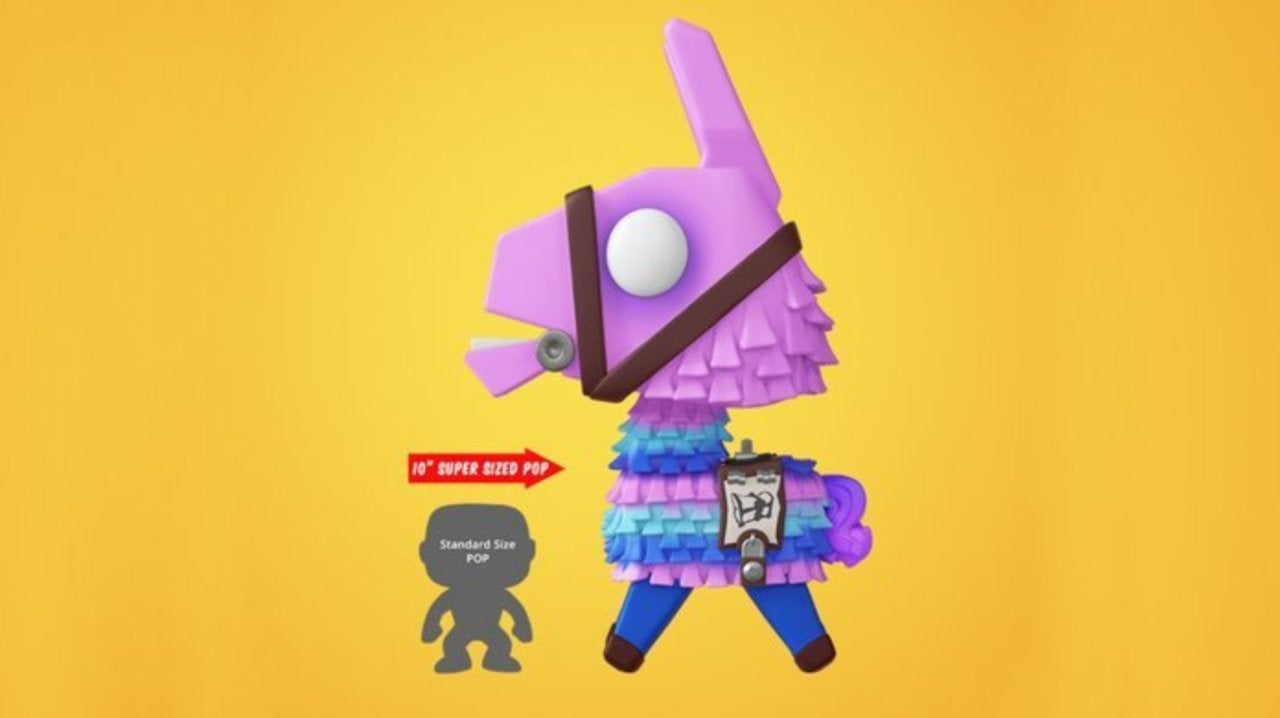 New Fortnite Funko Pops Include A 10 Inch Loot Llama