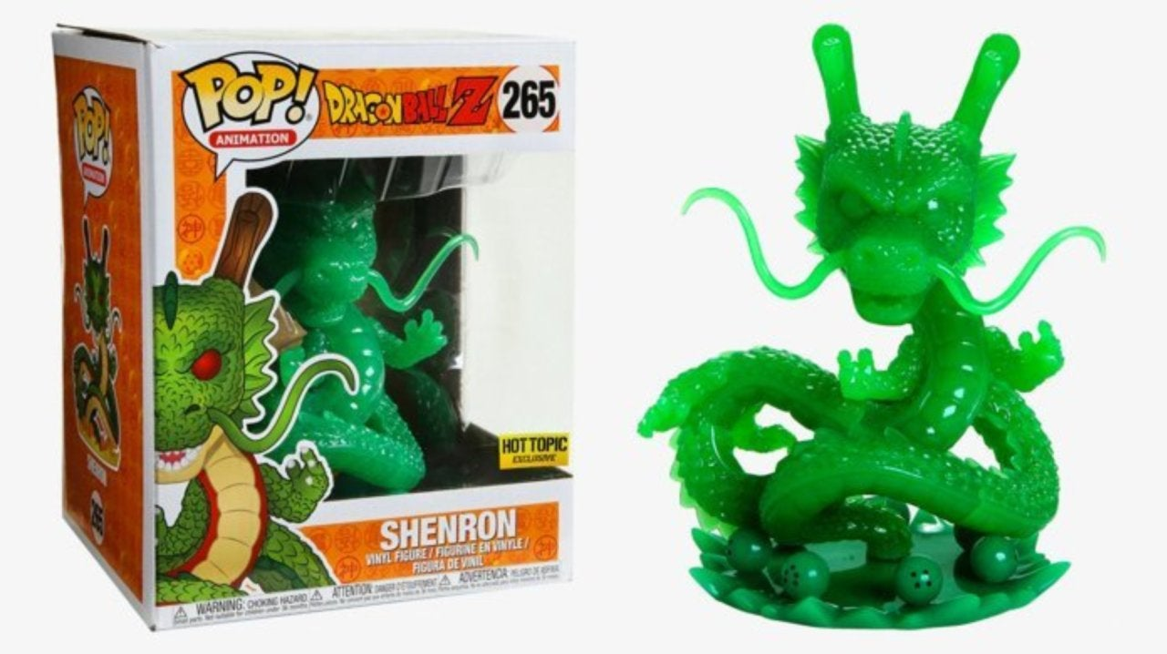 The Dragon Ball Z Jade Shenron 6-Inch Funko Pop Figure Exclusive is Available Now