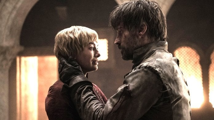 game of thrones finale cersei jaime lannister death