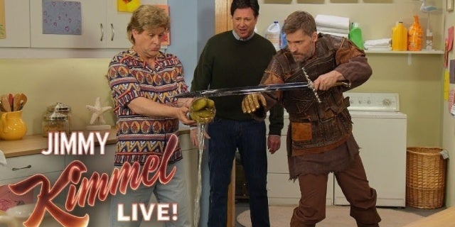 "Jimmy Kimmel Sketch Imagines Game of Thrones Spinoff as ""Full House Lannister"""