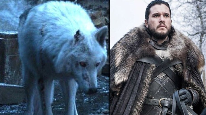 game of thrones jon ghost