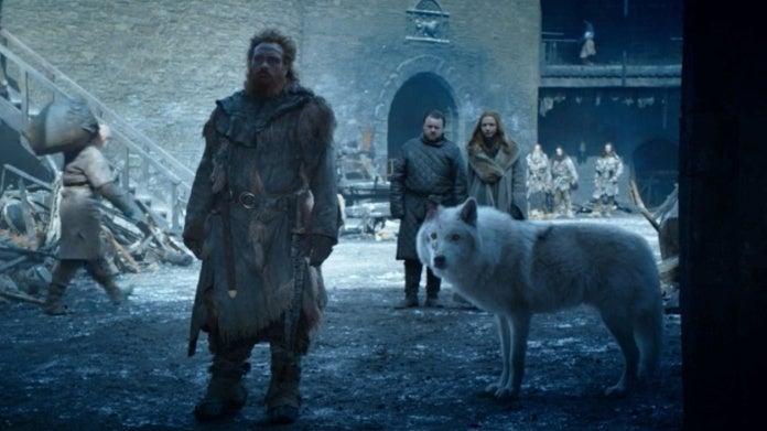 Game of Thrones season 8 episode 4 Jon Snow Ghost