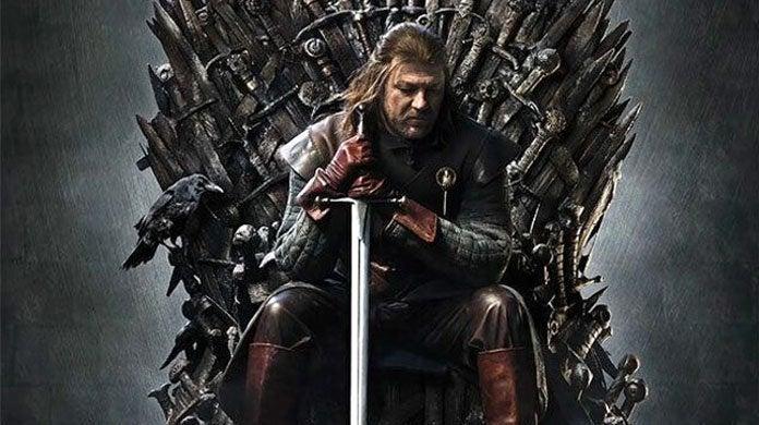 game of thrones season one poster sean bean ned stark header