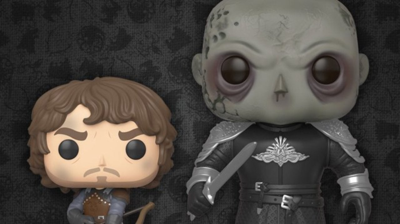 Funko Launches Game of Thrones Theon Greyjoy and 6-inch The Mountain Pop Figures