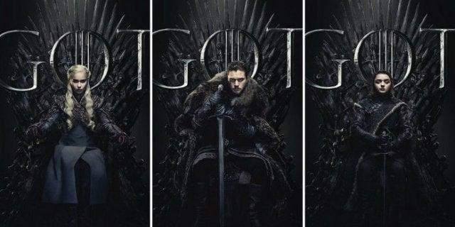 Game Thrones Ending Jon Snow Daenerys Arya King Queen Iron Throne