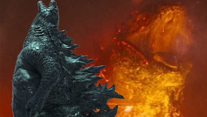 godzilla king of the monsters burning