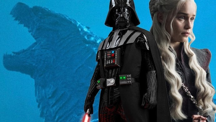 godzilla king of the monsters darth vader daenerys