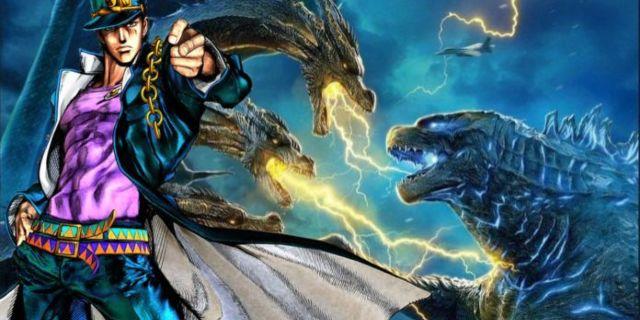 Godzilla and Ghidorah Hilariously Fight in JoJo's Bizarre ...