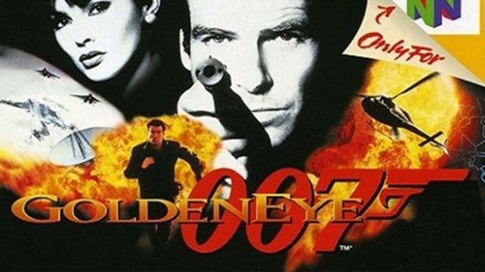 GoldenEye 007 N64 On-Rails Shooter