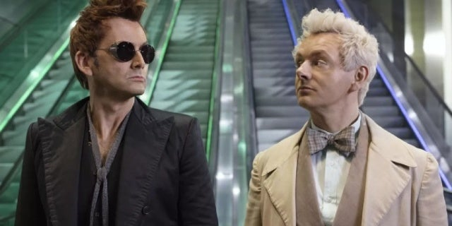 Netflix Responds to Petition to Cancel Good Omens, Which Airs on Amazon Prime