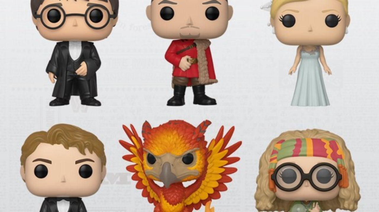 Funko Casts a Spell for More Harry Potter Pop Figures