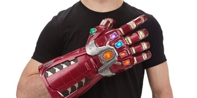 Save 12% on the Marvel Legends Avengers: Endgame Nano Gauntlet Electronic Fist