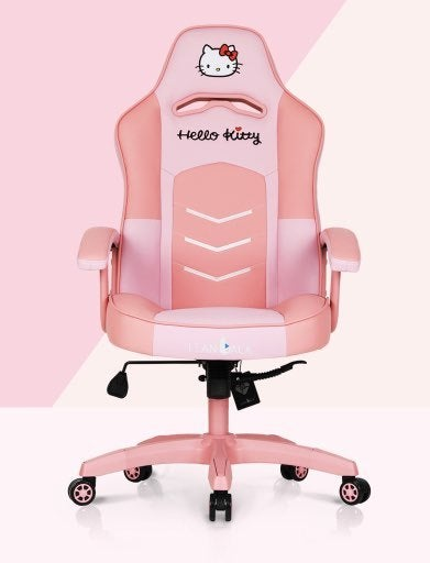 Hello Kitty Gets Comfy With One Cute Gaming Chair