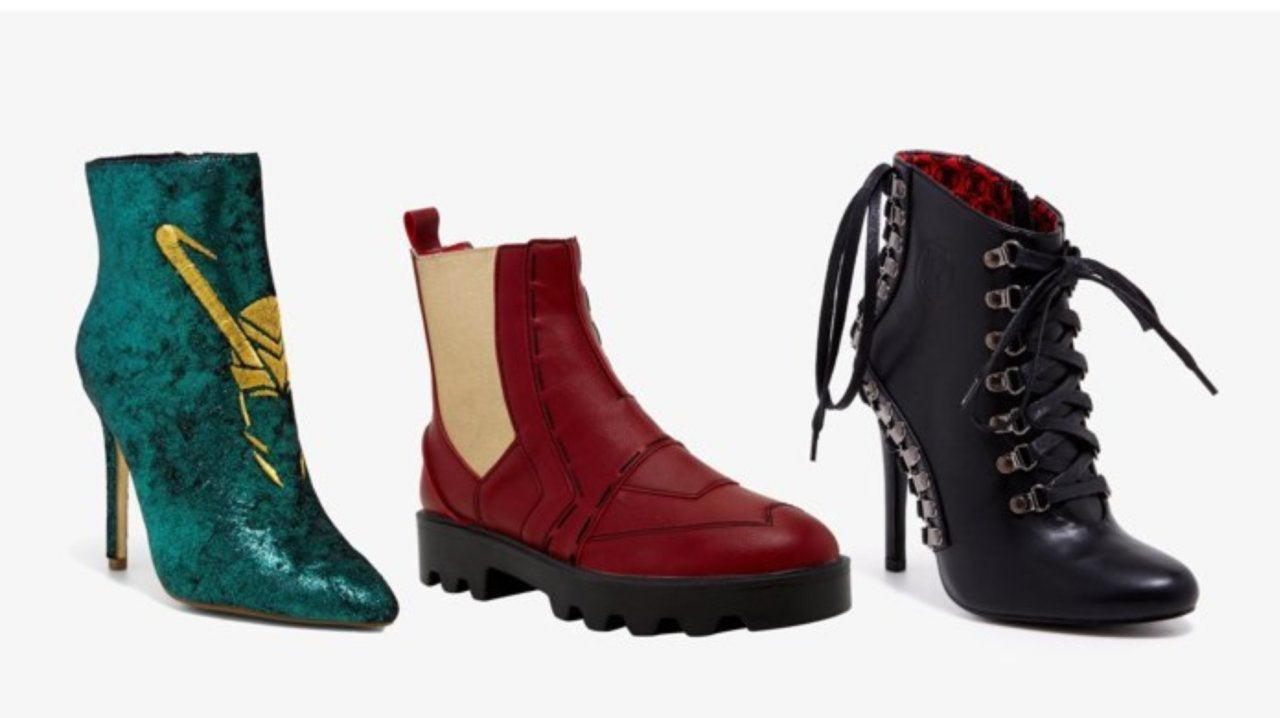 Marvel's Avengers Boot Collection is Live
