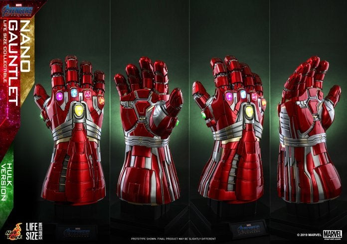 Hot Toys - A4 - Nano Gauntlet (Hulk Version) Lifesize Collectible_PR1